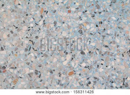stone wall texture Terrazzo Floor background Marble pattern and color