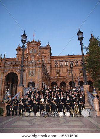 Seville, Spain - December 06, 2009: Processional Bands Congress In