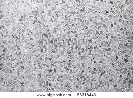Stone wash Terrazzo floor Marble surface for back ground.