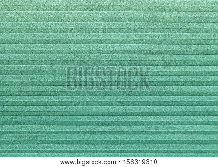 Background Pattern Horizontal Green Textured Sheet of Paper Folded with Copy Space for Text and Other Decorative Elements.