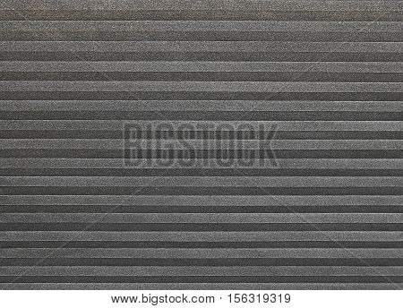 Background Pattern Horizontal Black Textured Sheet of Paper Folded with Copy Space for Text and Other Decorative Elements.