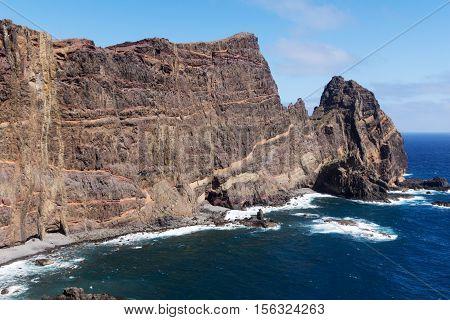 Ponta de Sao Lourenco, East coast of Madeira island