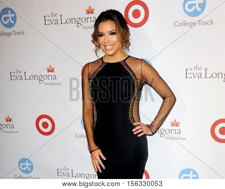 Eva Longoria at the 5th Annual Eva Longoria Foundation Dinner held at the Four Seasons Hotel in Beverly Hills, USA on November 10, 2016.