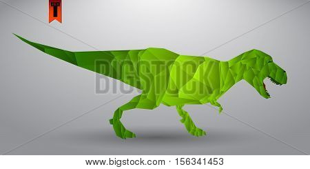 t-rex. You can easily edit the image, change the color in one click