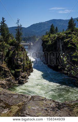 The Falls, Post Falls Idaho.