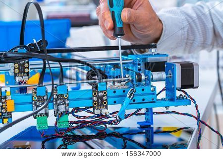 assembly of electronic devices