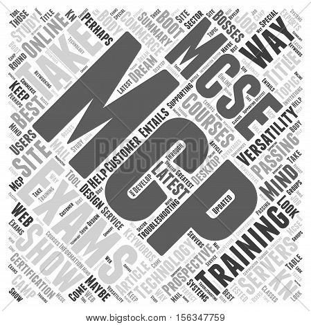 Show Your Versatility It s The MCP Way word cloud concept