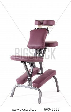 massage chair isolated on a white background