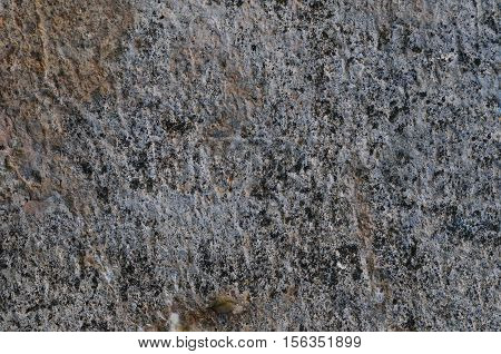 Grey Coarse Concrete Stone Wall Texture, Horizontal Closeup Old Aged Weathered Natural Rustic Textured Grungy Stonewall Background Pattern Vintage Red, Beige, Yellow, Grunge Dolomite Slate Slab Rock