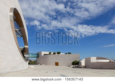 Lisbon, Portugal - October 31, 2016:  Champalimaud Foundation, Centre for the Unknown. Biomedical private research center in the fields of neuroscience, oncology and visual impairment.