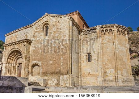 Iglesia De San Miguel Church On A Hill In Daroca