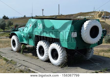 Infantry Fighting Vehicle. Military Vehicle For Soldiers On The Battlefield