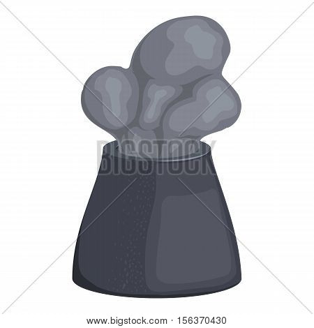 Chimney icon. Cartoon illustration of chimney vector icon for web