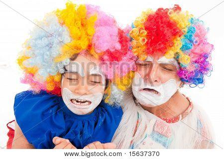 Clown Crying