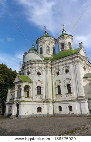 View of Kiev Podolsk Intercession Church. Ukraine