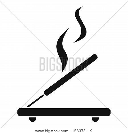 Incense sticks icon. Simple illustration of incense stick vector icon for web design