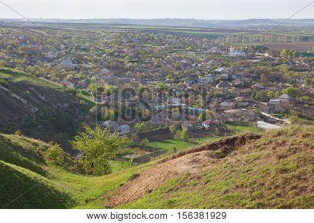 beautiful place ,moldavian village Furceni situated near river Raut