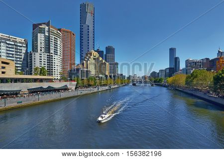 Urban view in Melbourne, Australia