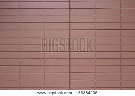 Red modern brick wall texture. Abstract background.