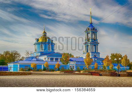 Cathedral  Dormition Zadonsk Lipetsk Oblast Russia