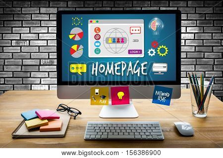 Homepage Global Communication Address Browser Homepage Computer Digital Internet Technology