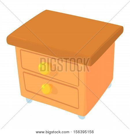 Commode icon. Cartoon illustration of commode vector icon for web