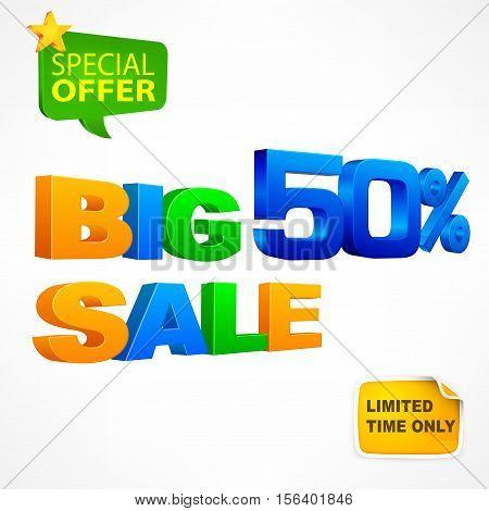 Big Sale Inscription 50%
