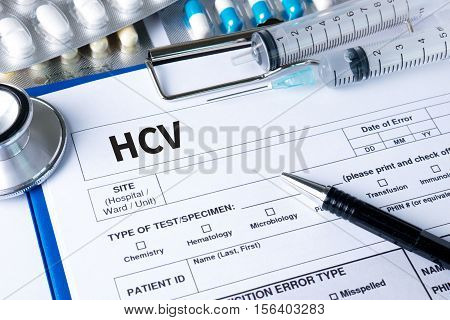 Hcv  Medical Diagnosis  Hcv  Hepatitis C Virus.