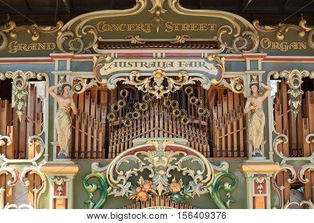 Australia Fair Grand Concert Street Organ