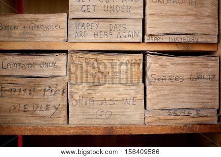 Sheet Music For Barrel Organ
