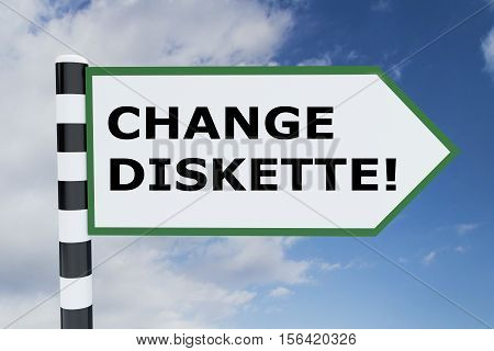 Change Diskette! Concept
