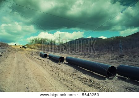 Pipes  In Wood