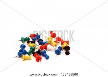 heap of office pushpin