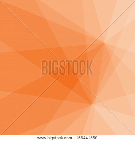 Orange Color Light  Background, Vector By Eps10