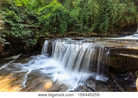 Than Thong Waterfall in Sangkhom District Nong Khai Province Thailand
