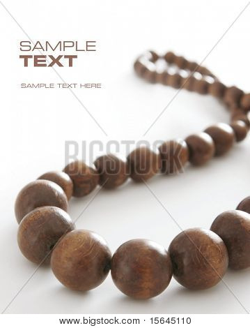 brown beads