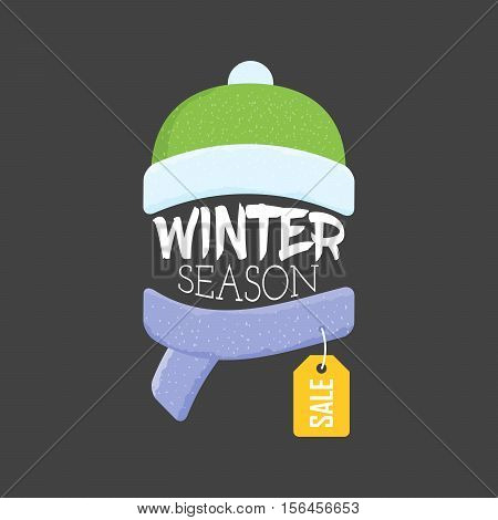 Winter sale labels and banner. Vector Illustration. Web banners advertisements brochures business templates
