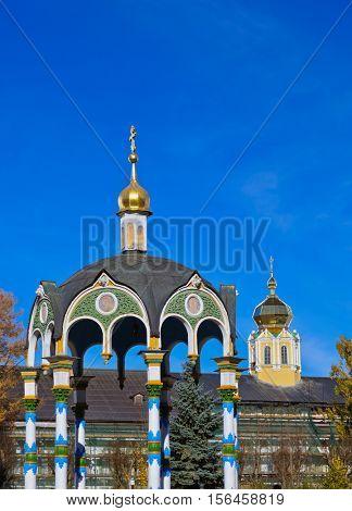 Church in the Trinity Sergius Lavra in Sergiev Posad - Russia