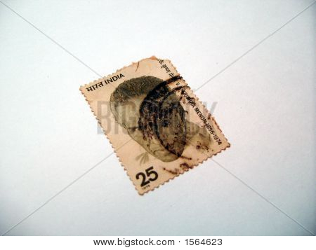 Indian Postal Stamp - In Memory Of Sri V.K Menon