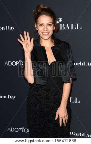 LOS ANGELES - NOV 11:  Bethany Joy Lenz at the Annual Baby Ball in honor of World Adoption Day at NeueHouse on November 11, 2016 in Los Angeles, CA