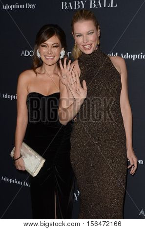 LOS ANGELES - NOV 11:  Lindsay Price, Rebecca Romijn at the Annual Baby Ball in honor of World Adoption Day at NeueHouse on November 11, 2016 in Los Angeles, CA