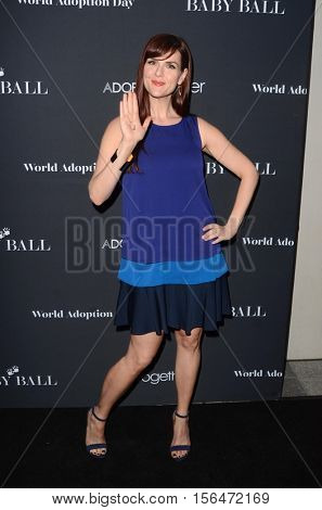 LOS ANGELES - NOV 11:  Sara Rue at the Annual Baby Ball in honor of World Adoption Day at NeueHouse on November 11, 2016 in Los Angeles, CA