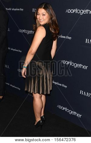 LOS ANGELES - NOV 11:  Jenna Ushkowitz at the Annual Baby Ball in honor of World Adoption Day at NeueHouse on November 11, 2016 in Los Angeles, CA