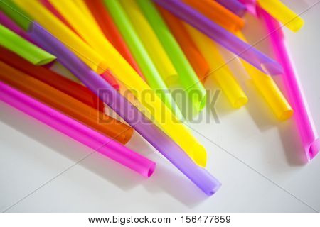 Abstract Background From Many Multi-color Tubules For A Cocktail