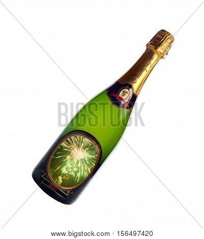Bottle Of Champagne 2017