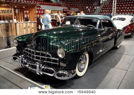 HELSINKI, FINLAND - OCTOBER 3: X-Treme Car Show, showing 1948 Cadillac Convertible on October 3, 2009 in Helsinki, Finland