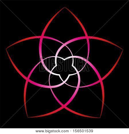 Flower of venus, symbol of love and harmony.