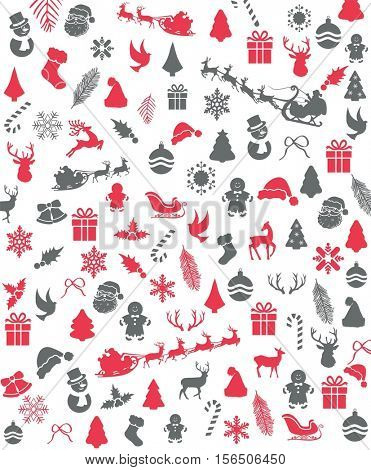 Christmas Seamelss Pattern