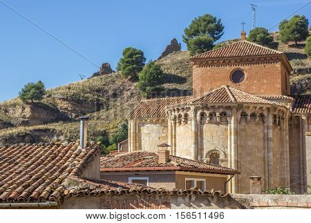 Iglesia De San Miguel On A Hill In Daroca