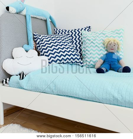 Shot Of A Bed